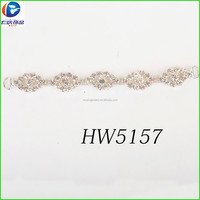 Silver Jewelry chain bra pads for swimwear connect body chain