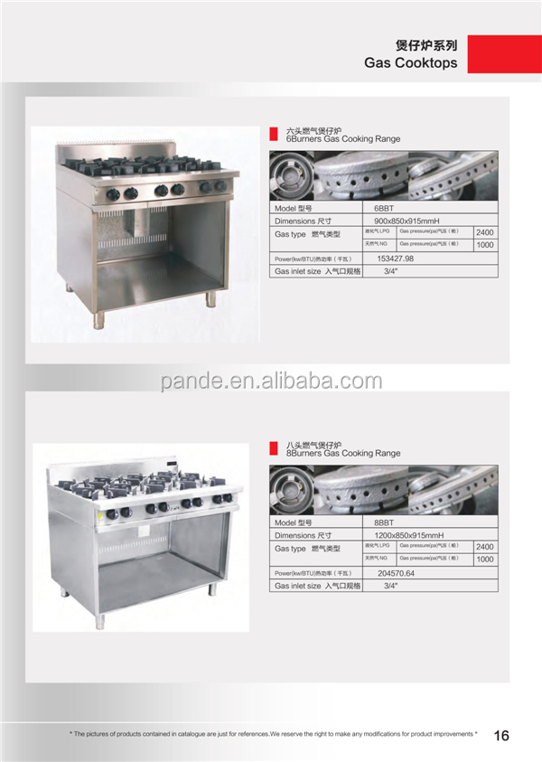 Guangzhou Factory Price Good Quality Commercial Kitchen