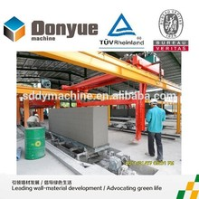 Dongyue 2015 high profitable project aac production line