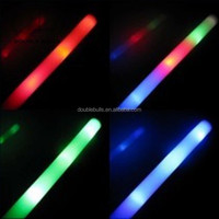 Led Foam Stick Glow Stick Foam LED Cheer Stick Multicolor Blinking Glow Rock Toy Christmas Gift