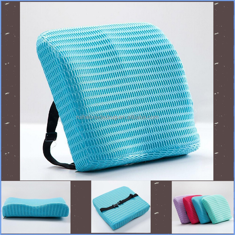 blue memory foam back cushion car cushion seat cushion car seat cushion buy back cushion. Black Bedroom Furniture Sets. Home Design Ideas