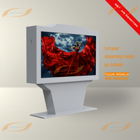65 inch floor standing outdoor advertising LED/LCD TV