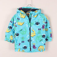 новые случайные динозавр мультфильм детей верхняя одежда для детей пальто мальчика куртка осенняя зимняя одежда