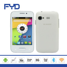 3G mobile phone android 4.4 single core 3.5 inch SC7715 Bluetooth cell phone