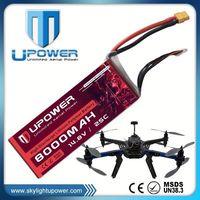 Upower 14.8v rc car battery for UAV drone multirotor RC model