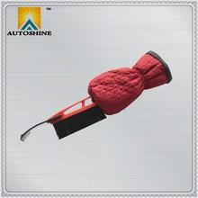 OEM ODM Factory Hot Selling Long Handle Snow Brush Ice Scraper Glove, Ice Scraper with Glove