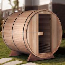 Waterproof Outdoor Garden Red Cedar Barrel Sauna Room (GT-KB002)