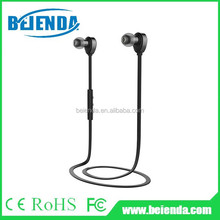 Sport stereo wireless bluetooth headset/ 3.0 earphone wireless Bluetooth headphone Bluetooth earphone for mobile devices - Black