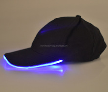 Wholesale led high hats factory price glow in the dark hat/led flashing hat for the party