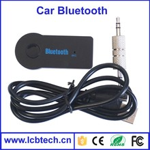 Unique!Bluetooth Handfrees Car Kit for 3.5mm Stereo Output, Adapter for Aux Car