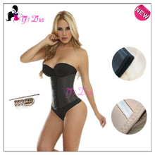 Plus Size Fitness Gaine Latex Waist Training Corsets Body Shapers Slimming Shapewear