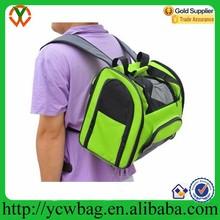Soft sided pet travel carrier shoulder backpack dog bag