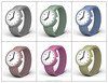 New style 38mm silicone rubber bracelet watch for kids