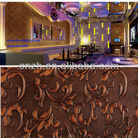 popular 3D embossed decorative wall panel
