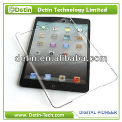 Simple Crystal PC Hard case for iPad cover accept paypal