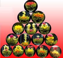 flower blooming tea chamomile blooming tea (bu bu gao sheng)