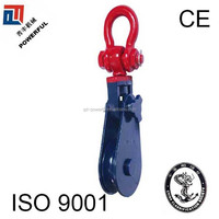 WITH SHACKLE H419 LIGHT TYPE MATEL CABLE LIFTING PULLEY