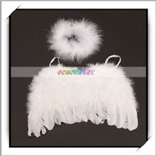 2012 New Style! 0-6 months Baby Feather Angel Wings -F1005WH