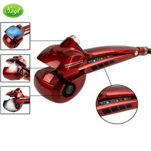 2015 Newest Professional Curling Iron Steamer Curl Automatic Hair Curler Nano Steam Mist Hydrating Care