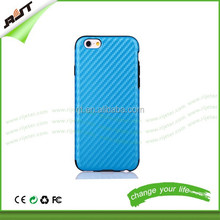 Hot selling mobile phone housing TPU lagging pu leather cell phone back case for iphone 6 plus