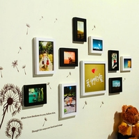 Wholesale bulk 10 frames wall picture wood frame hanging