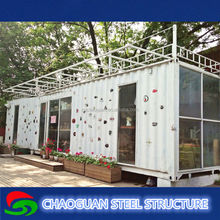 Fashion-designed optional kits bespoke service house container/ prefabricated container