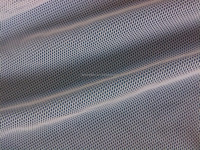 100%polyester square grid net fabric