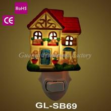 ETL CETL LVD EMC BS home switch sensor ceramic night lamp chrismast house