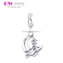 Factory Sales Witch Model 925 Sterling Silver Active925 Sterling Silver Jewelry Wholesale