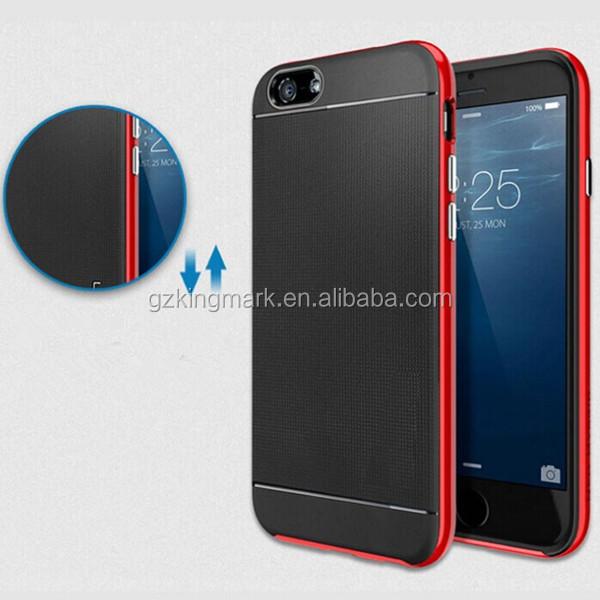 Luxury Bumper Mobile Phone Case for iPhone 6 Plus