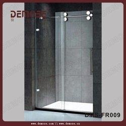 sliding glass shower doors shower cabin and price/bathtub sliding shower screen DMS-FR009