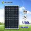 Bluesun TUV certificate mono 255w solar panel power bank