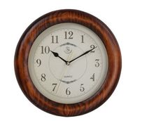 Alibaba china new style creative style classical orange wooden ball wall clock