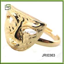 Wholesale fashion alloy mask rings