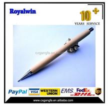GF-200 China wholesale wooden ball pen/wood pen