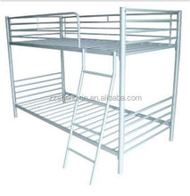 Best quality student bunk bed for two person with metal frame