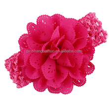 Rose red color type baby headband,cute baby head band NO.02