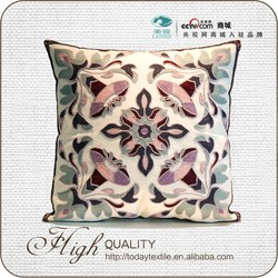 Plain flower colourful comfortable cushion cover