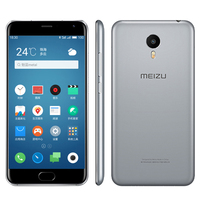 "Original 5.5"" Meizu M1 Metal 4G LTE Cell Phone Android 5.1 MTK Helio X10 Octa Core 2GB RAM 16GB ROM 1920x1080 13.0MP Camera"
