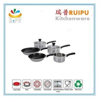High quality cookware Stainless Steel German Cookware Sets Picnic Cooking Pots with super capsule bottom