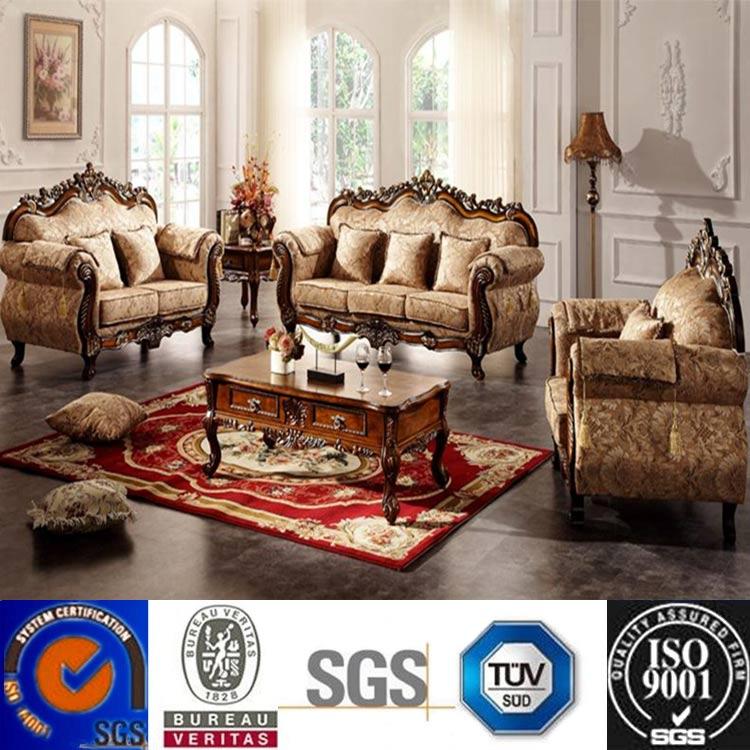 Home Furniture Corduroy Fabric Sectional Sofa Modern Sofas Fabric Curved Sofa European Classical