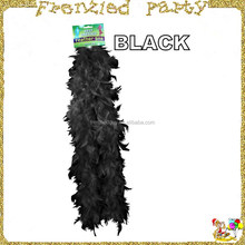 childs black wholesale feather boas FGMG-0300