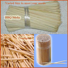 Welcomed Varied Size Diameter 1mm to 3mm Length 15cm to 30cm hot selling bamboo toothpicks Incense Stick