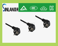SINLAN KLT certifaction Korea power cord plug 5A ,13A