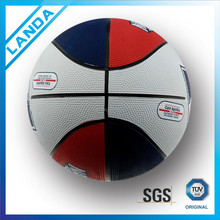 colourful street rubber basketball size 7