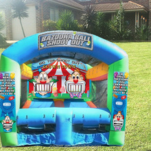 antique all in 1 sports arena inflatable games
