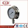 back connection high temp pressure gauge manufacturer