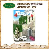 custom Italy verona casa di giulietta souvenir resin love fridge magnet for decoration home