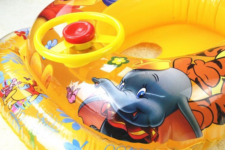 Высокое качество надувные кольца дети плавать круг кругов лодки для новорожденных девочек мальчиков