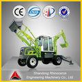 chine chers tractopelle équipement de machines agricoles pour la vente